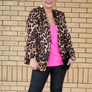 NY&Co Leopard Blazer